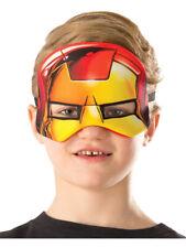 Childs Boys Iron Man Plush Eye-Mask Costume Accessory