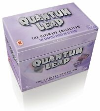 QUANTUM LEAP THE ULTIMATE COLLECTION ENTIRE 5 SEASONS ON 27 DISCS  REGION 4