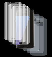 4 x Panzerfolie Samsung Galaxy S7 3D Komplett PET Schutz Folie 2x VORN + 2x Rück