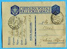 WWII MILITARY - POSTA MILITARE 202 BIS (ALBANIA) FRONTE JUGOSLAVO (0234-15)