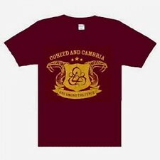 Coheed And Cambria  Snakes on maroon Music  t-shirt S-M-L-XL-XXL  BURGUNDY