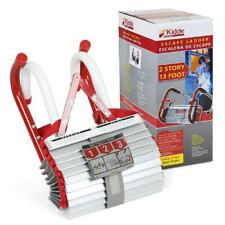 2 Story Portable Emergency Fire Escape Rope Ladder Home Window Safety Metal