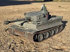 1/16 scale heng long German Tiger 1 tank Radio control with upgrade metal tracks