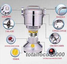 700g High Speed Electric Herb Grain Grinder Cereal Mill Flour Powder Machine