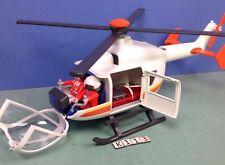 (K113) playmobil Hélicoptère médical ref 6686
