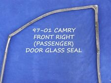 1997 - 2001 TOYOTA CAMRY FRONT RIGHT DOOR WINDOW WEATHER STRIPPING FITTED 97-01