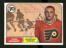 1968-69 Topps #97 FORBES KENNEDY Autograph/Auto Card Philadelphia Flyers