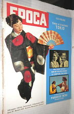 EPOCA 23 novembre 1958 Tokyo Tyrone Power Stroyberg Aylmer Giulia Occhini Vadim