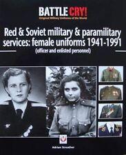 LIVRE : SOVIET FEMALE UNIFORM/UNIFORME FEMME SOVIETIQUE militaire russe