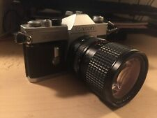 Vintage Canon TLb with Tokina AT-X 28mm-85mm 1:3.5-4.5 Lens