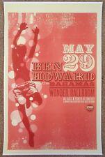 BEN HOWARD 2012 Gig POSTER Portland Oregon Concert