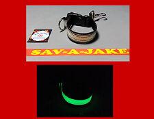 Sav-A-Jake Firefighter Glow/Reflective Glove Strap Quick Release - Black