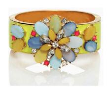 Kate Spade Bungalow Bouquet Hinged Bracelet NWT Modern Urban Romantic Style!