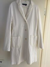 Yoshi Kondo Japanese Designer Cream Cotton Jacket Medium 12/14