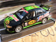 "Mitsubishi Evo 3 4 5 6 7 8 9 10 Racer Drifting Black ""X Flash"" 1-35th Scale"