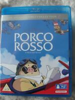 PORCO ROSSO - Blu-ray  - Studio Ghibli - Anime (1x Disc Blu-ray) SUPERB- NO DVD