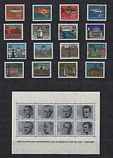 Bund/BRD Sammlung - postfrisch, komplett - 1960 - 1969