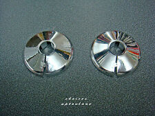 TALON CHROME PLATED 15MM RADIATOR PIPE COLLAR COVERS PCC15 (PACK OF 2)