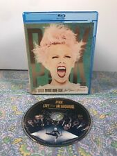BLU-RAY ~ PINK THE TRUTH ABOUT LOVE TOUR ~ MELBOURNE ~ VG+