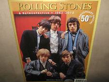 ROLLING STONES A Retrospective 1962-2012 50th Anniversary Special WP Legend Seri