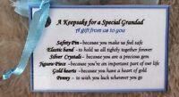 keepsake Birthday gift for Grandfather Grandad Christmas gift idea for him men