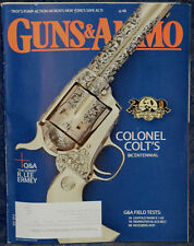 Magazine GUNS & AMMO July 2014 MOSSBERG MVP Patrol 5.56 RIFLE, Troy Defense PAR