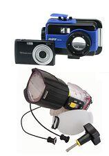 RIFF Set RC16 macchina fotografica subacquea con uwb-2 Flash subacqueo NUOVO