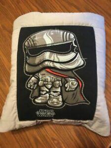 New Handmade Star Wars Luke Skywalker Quillow (Pillow w/ 6ft long quilt inside!)