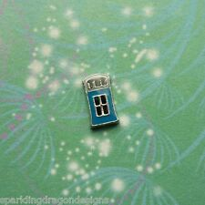 Doctor Who Tardis - Floating Charm for Memory Lockets, Story & Living Lockets
