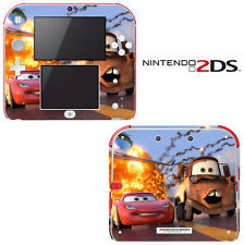 Vinyl Skin Decal Cover for Nintendo 2DS - Racing Cars 2 Lightning McQueen Mater