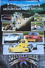 1959 - 1984 WESTWOOD Mountain High Racing Motoring Poster Size 860mm x 560mm