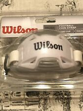 Wilson Hard Cup Football Chin Strap Youth 4-point Hookup & Double Density Pad