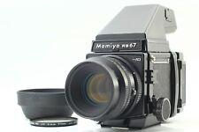 【N.MINT Meter Works】 Mamiya RB67 Pro SD 127mm f/3.5 K/L 120 Film Back JAPAN #485