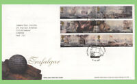 G.B. 2005 Trafalgar set Royal Mail First Day Cover, Portsmouth