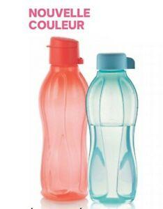 Tupperware neuve lot de 2 bouteilles éco bouteille + eco sport 500 ml