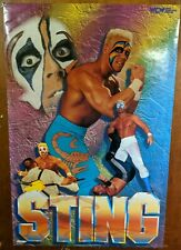 """Vintage """"Sting"""" WCW Era Large Poster  Out of Print  1995 WWF WWE"""