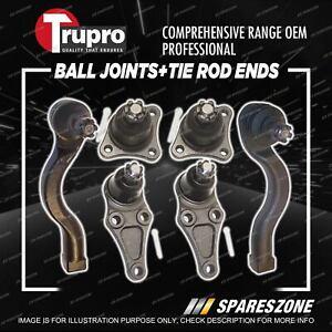 Trupro Ball Joint Tie Rod End Kit for Mitsubishi Triton ML MN Utility 4WD 06-13