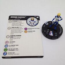 Heroclix X-Men Xavier's School set Mindee Cuckoo #010b Common figure w/card!
