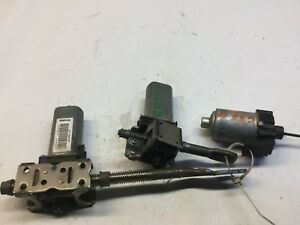 09 10 11 12 13 INFINITI G37 FRONT RIGHT SEAT ADJUST MOTOR SET OF 3 MOTORS J