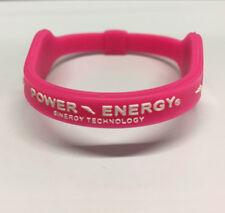 New Silicone Power Energy Balance Bands Wristband Sports Hologram Bracelet