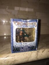 LORD OF THE RINGS FRODO BATTLE SCALE FIGURE