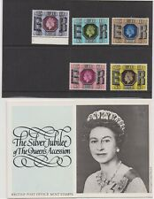 GB Presentation Pack Silver Jubliee of the Queen's Accession  07101112