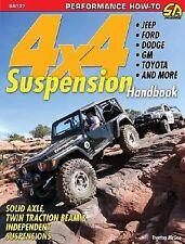 4x4 Suspension Handbook (S-A Design) by Trent Mcgee