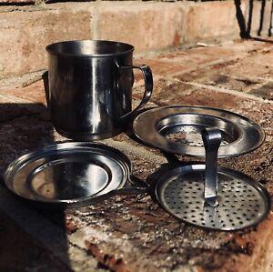 50/100ML Vietnamese Coffee Stainless Steel Simple Drip Filter Maker Infuser