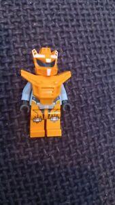 Lego minifigure chuck orange robot sidekick galaxy squad