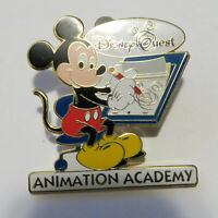 Disney WDW DisneyQuest - Animation Academy Mickey Mouse Pin