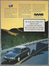1989 SAAB 900 advertisement, Saab 900 Turbo SPG, Canadian advert