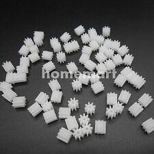 50PCS X 0.5M Plastic Spur Gear 0.5 Modulus T=8 Aperture 2mm 1.95MM 8 Teeth 8T 2A
