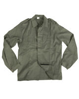 New Unused Genuine Belgian Army Issued Olive Drab Military Field Shirt