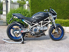 Ducati Monster 900 1998-> Ex-Box stainless steel QD exhaust system motogp race